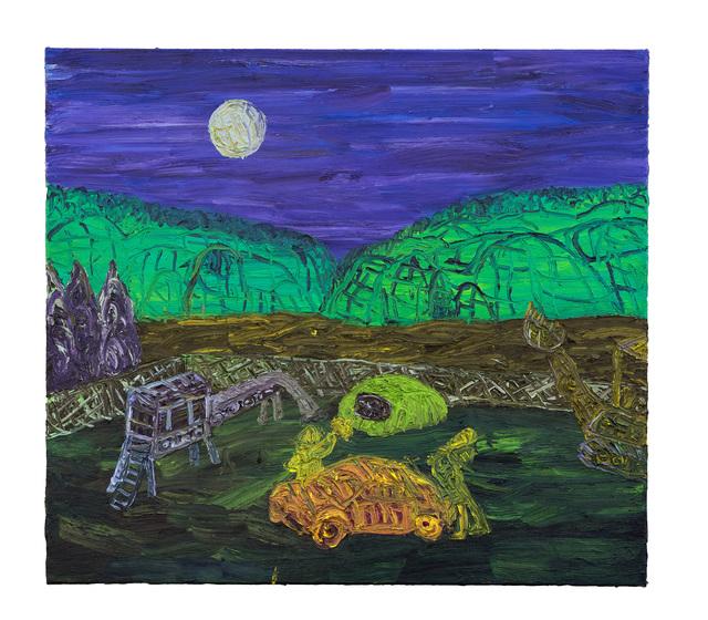 Gilles Rotzetter, 'Going to San Jose', 2015, Laurent Marthaler Contemporary