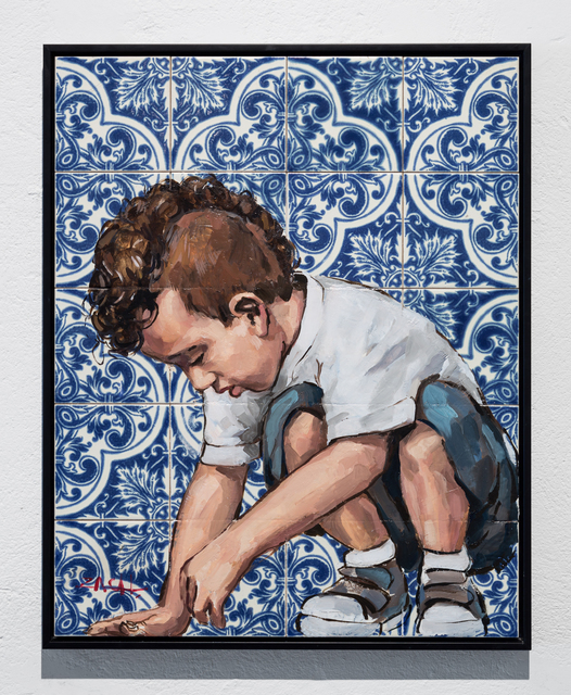 Ernest Zacharevic, 'Floor is Tiles Series - Untitled #2', 2015, Underdogs Gallery