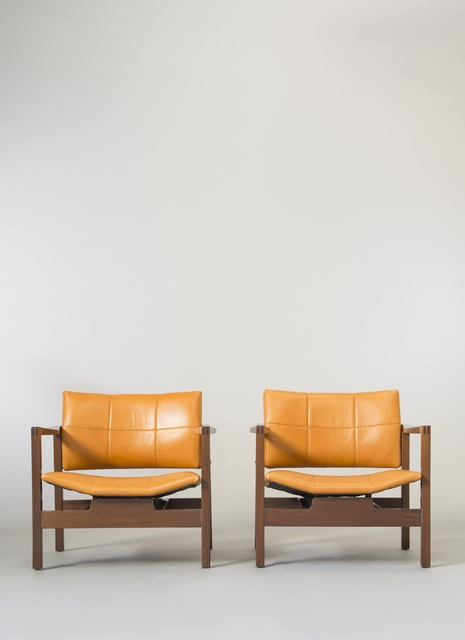 , 'Pair of armchairs SF112 - Hexagone,' 1960, Galerie Pascal Cuisinier