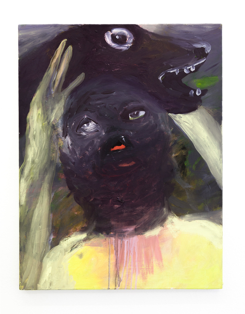 , 'Double Face (engl.: double face),' 2009, DAS ESSZIMMER