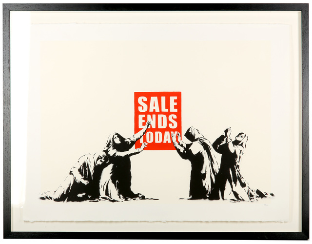 Banksy, 'Sale Ends', 2007, Chiswick Auctions