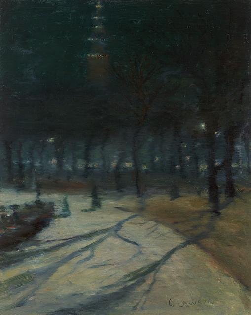 , 'Evening, Madison Square Park,' , Questroyal Fine Art