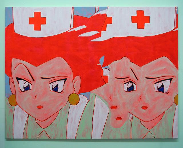 , 'Nurse Painting (Glitch 1),' 2016, Castor Gallery