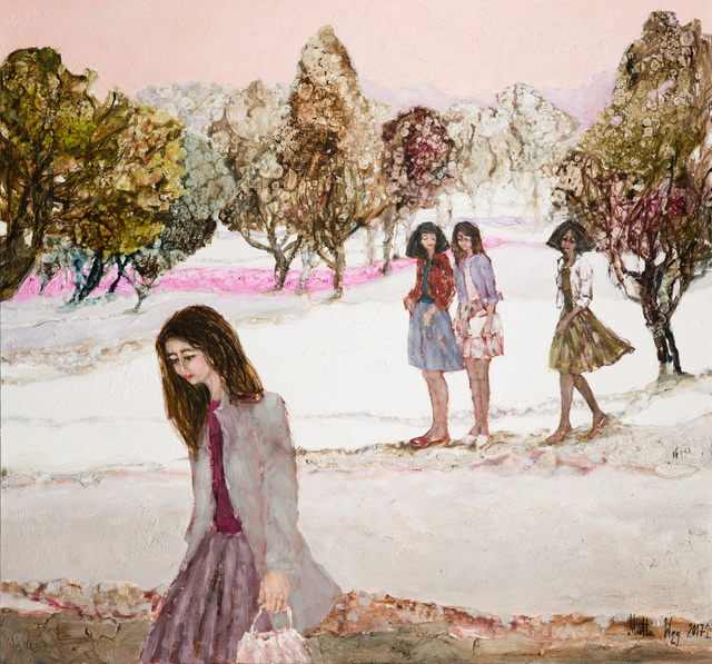 , 'A walk in the winter time,' 2017, Gallery Katarzyna Napiorkowska | Warsaw & Brussels