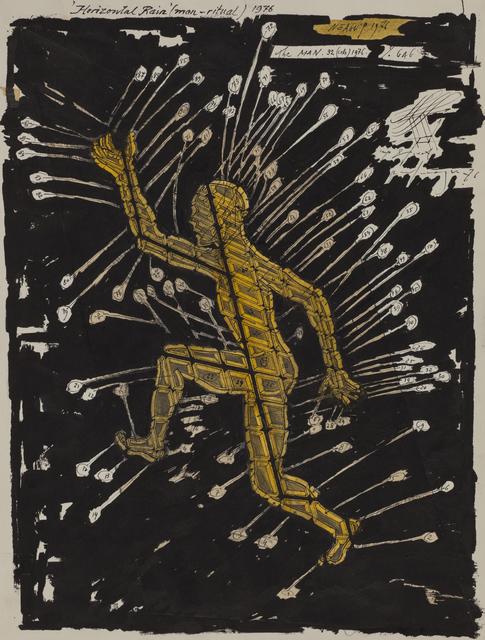 , 'Horizontal Rain,' 1976, Ivan Gallery