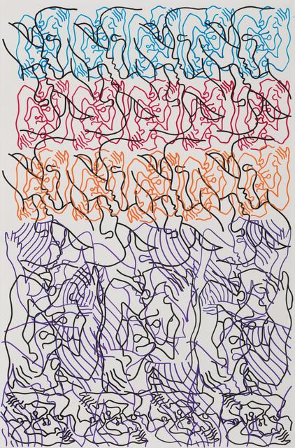 Carlos Amorales, 'Orgía de Narcisos 3', 2019, Galeria Solo / Eva Albarran & Christian Bourdais