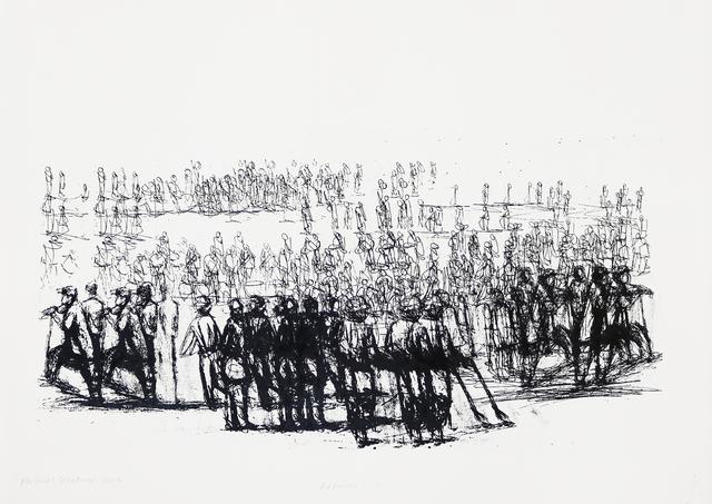 , 'Retinue II,' 2018, Eclectica Galleries