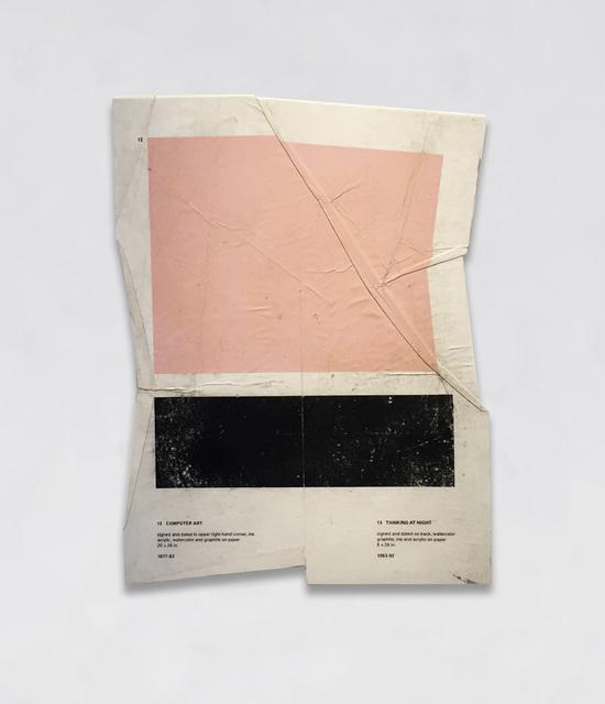 , 'Computer Art / Thinking at Night,' 2017, Bryce Wolkowitz Gallery