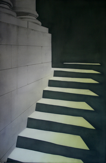 , 'Old College Steps II,' 2017, The Scottish Gallery
