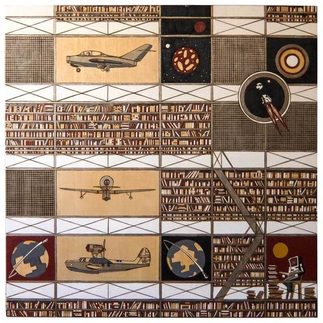 """, '""""Pilots 3"""",' 2012, Krokin Gallery"""