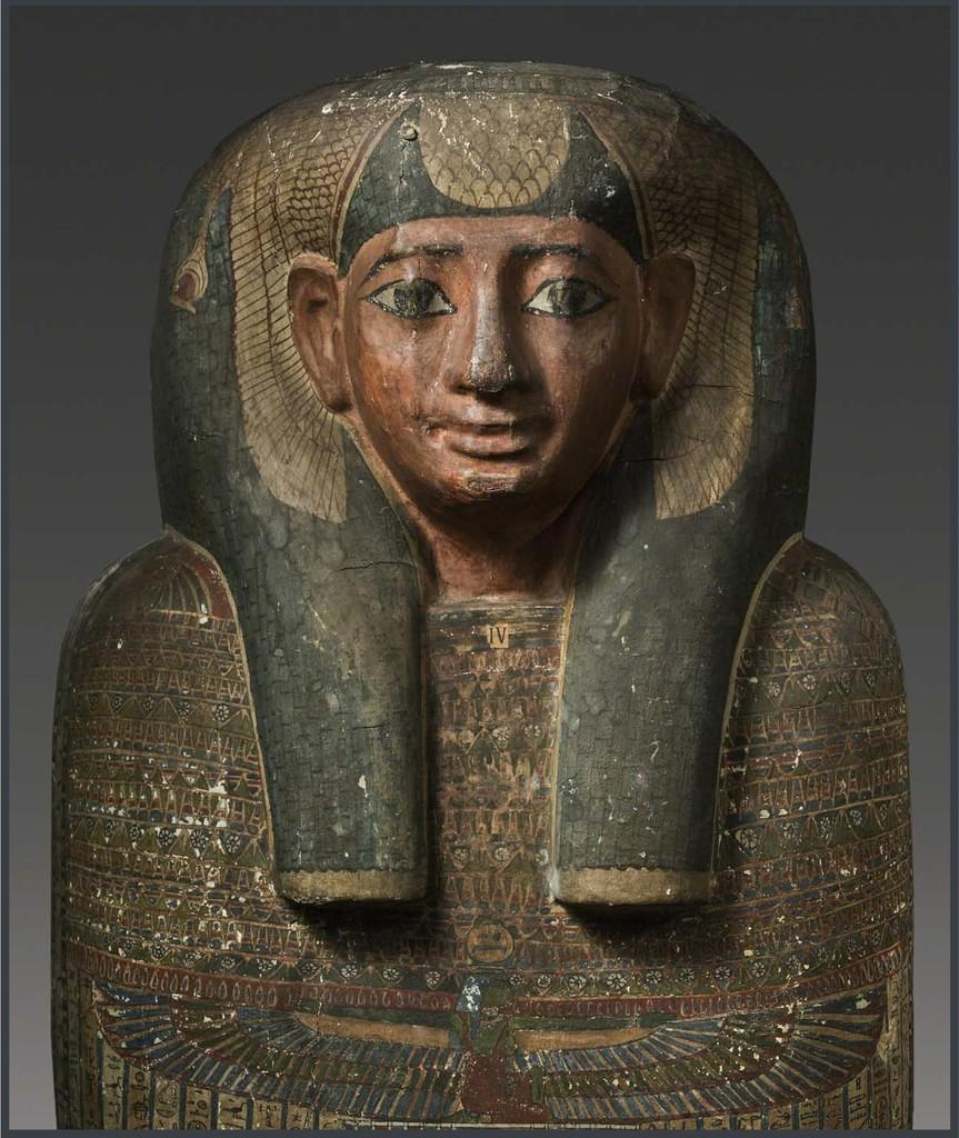 The Sarcophagus of Princess Sopdet-em-Haawt, Egypt
