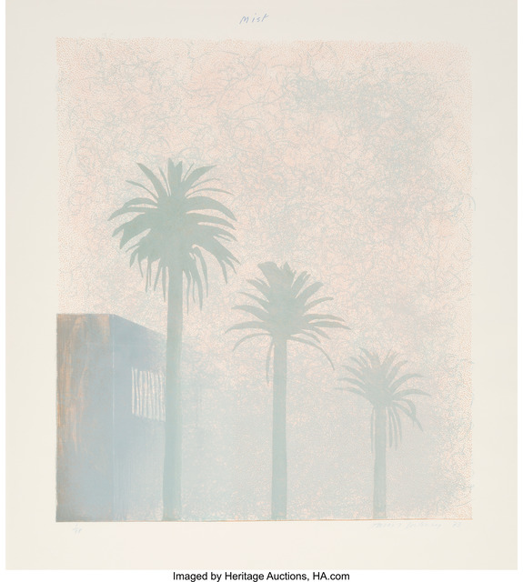 David Hockney, 'Mist (from Weather Series)', 1973, Heritage Auctions