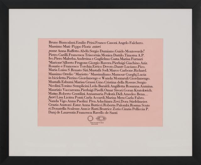 Emilio PRINI, 'Untitled', 1993, OSART GALLERY