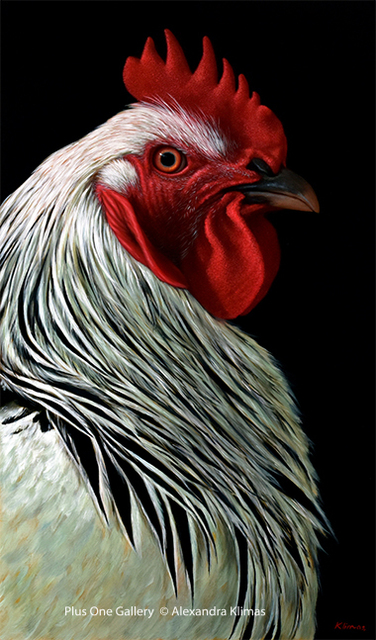 , 'Charlie the Rooster III,' 2018, Plus One Gallery
