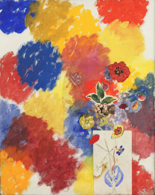 , 'Untitled (Flowers 101% Painted by Me and by Others No. 5),' 1962, Peggy Guggenheim Collection