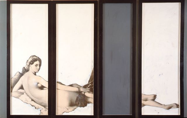 , 'Grande Odalisque (La grande odalisca),' 1964, Peggy Guggenheim Collection