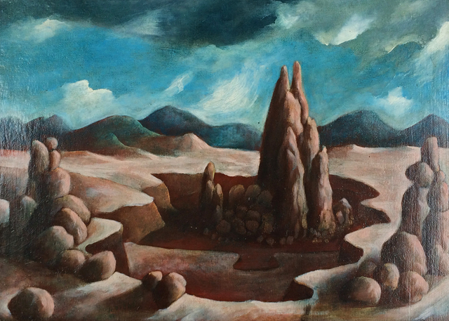 , 'Rock Formations,' 1950, Caldwell Gallery Hudson