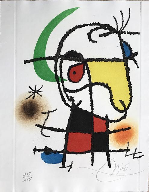 , 'Le Vent Parmi les Roseaux - Frontispiece (signed),' 1971, Fairhead Fine Art Limited