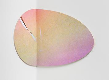 Large Circle (pink/yellow)