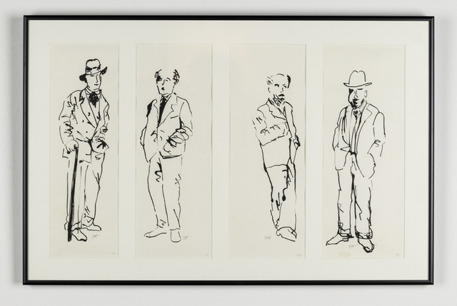 , 'My Four Uncles,' 1981, Ronald Feldman Gallery