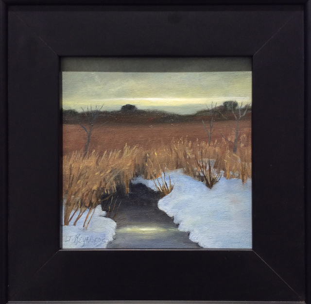 Judy Reynolds, 'Winter Marshes', ca. 2016, Carrie Haddad Gallery