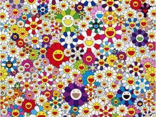 Takashi Murakami, 'if I could reach that field of flowers , I would die happy ', Ode to Art