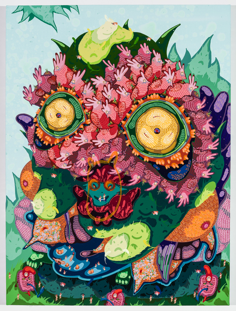 , 'Strawberry Iguana,' 2016, Gallery Poulsen