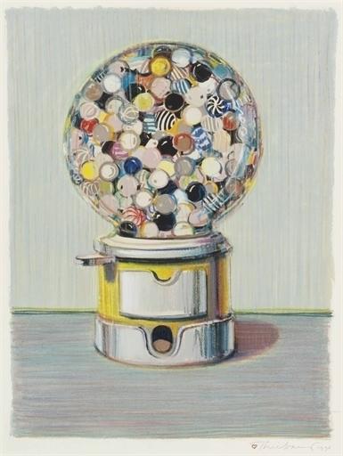 Wayne Thiebaud, 'Jawbreaker Machine', Christie's