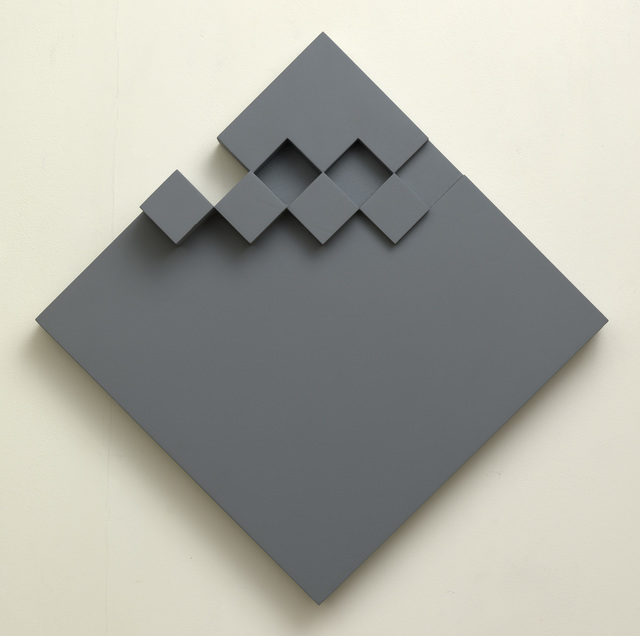, 'Grey relief,' 1982, Waterhouse & Dodd