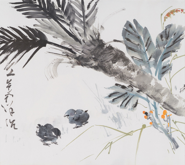 Chen Wen Hsi, 'Two Chicks in Spring', 33 Auction