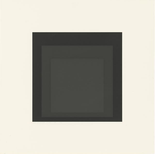 , 'Gray Instrumentation I d,' 1974, Ludorff