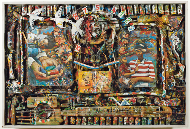 Willie Bester, 'Transition', 1994, British Museum