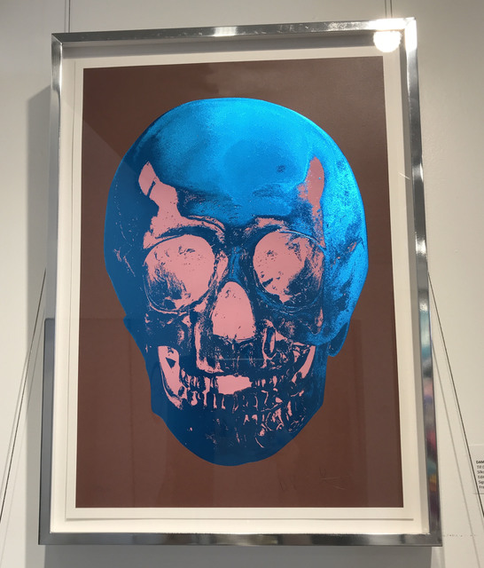 Damien Hirst, 'Till Death Do Us Part - Milk Chocolate Brown True Blue Bubblegum Pink Skull', 2012, Denis Bloch Fine Art