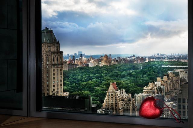 David Drebin, 'Love over Central Park', 2018, CHROMA GALLERY