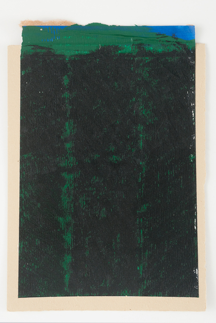 , 'Green Strips,' 2016, InLiquid