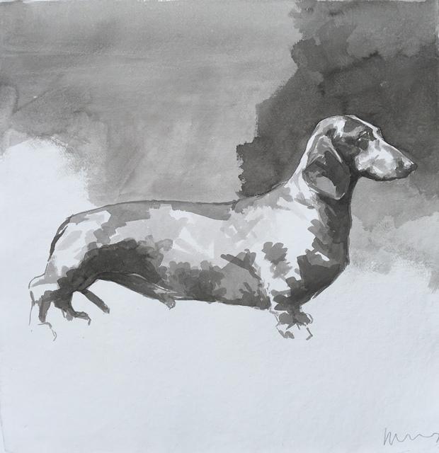 , 'Dachshund,' 2015, Dog & Horse Fine Art