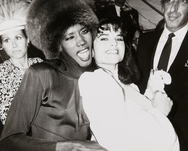 Andy Warhol, 'Grace Jones and Maria Shriver', 1986, The Future Perfect