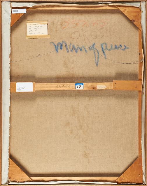 Eugenia Sumiye Okoshi, 'Man of Peace', ca. 1970, Painting, Oil on canvas (framed), Rago/Wright