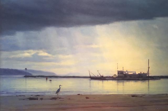 , 'Bird on a Beach,' 2018, Grenning Gallery