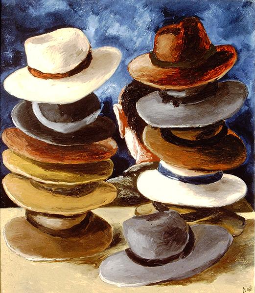 , 'Hats (1),' 1996, Hal Bromm