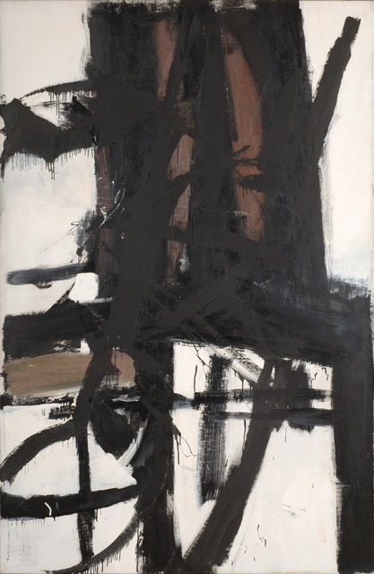 Franz Kline, 'The Bridge', ca. 1955, Art Resource