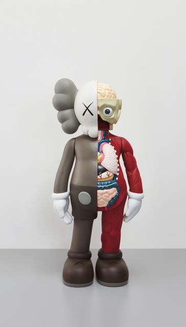 KAWS, 'Four Foot Dissected Companion (Brown)', 2009, Sculpture, Painted cast vinyl, Phillips