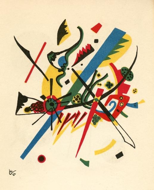 Wassily Kandinsky, 'Kleine Welten I', 1954, Artsnap