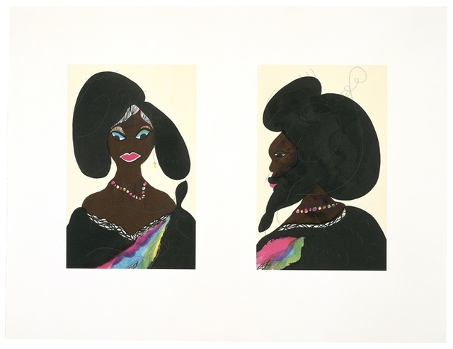 , 'Afro Harlem Muses,' , Lawrence Alkin Gallery