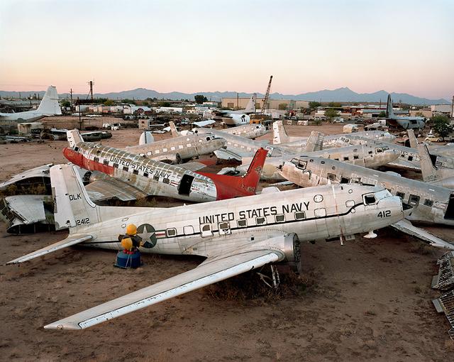 , 'AMARC #11, Davis-Monthan, AFB, Tucson, Arizona,' 2006, Nicholas Metivier Gallery