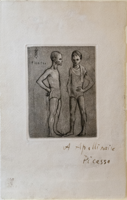 Pablo Picasso, 'Les Deux Saltimbanques', 1905, David Tunick, Inc.