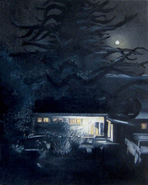 , 'House at Night,' , Gail Severn Gallery