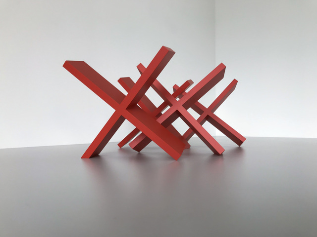 , 'Untitled (Red X's),' 2018, PROTO Gallery