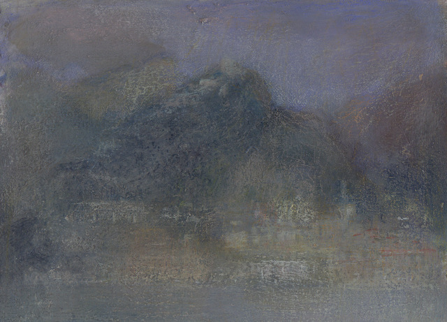 , 'Landscape L1136 - Amalfi Series, The Town of Atrani from the Sea II (in the Pompeian style),' 2018, Alan Kluckow Fine Art
