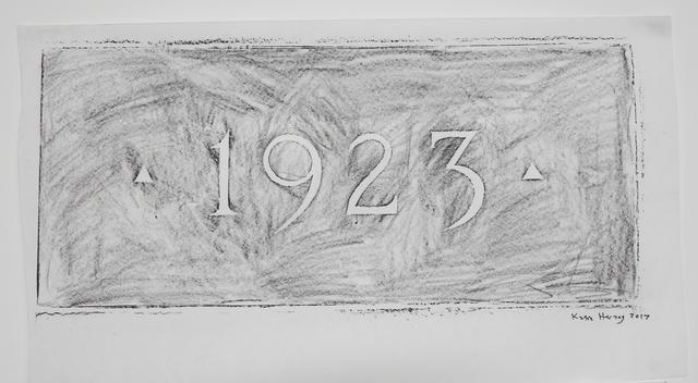 , '1923,' 2017, Klowden Mann